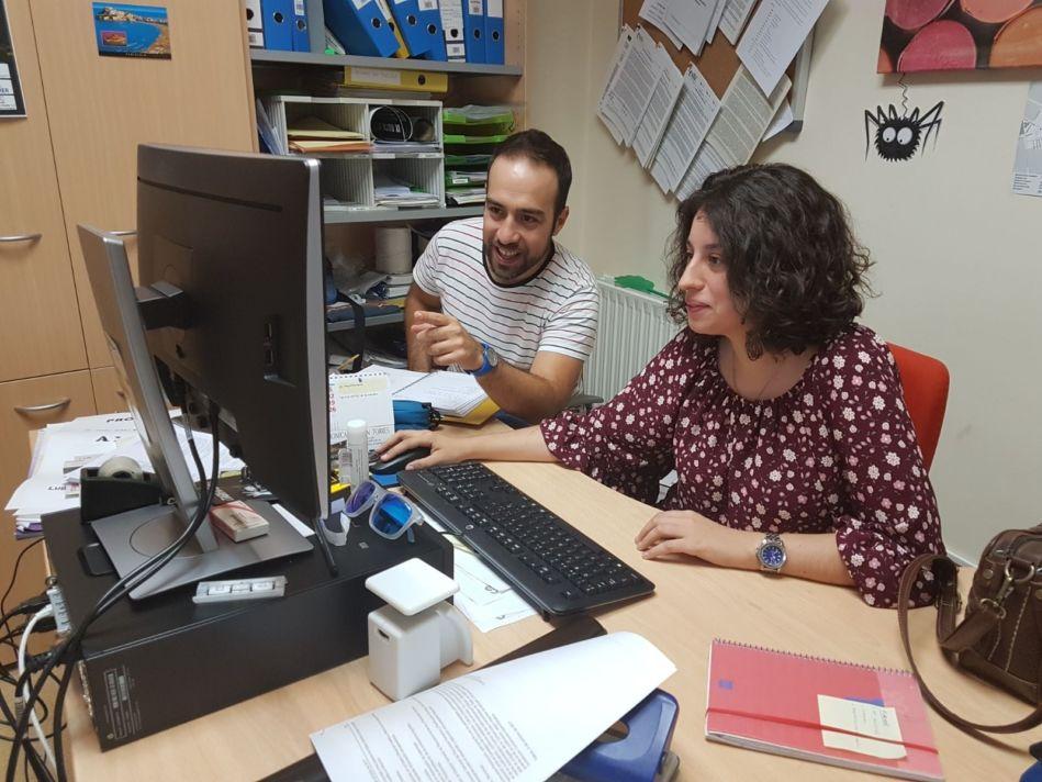 Personas con discapacidad de AFAS realizan prácticas laborales