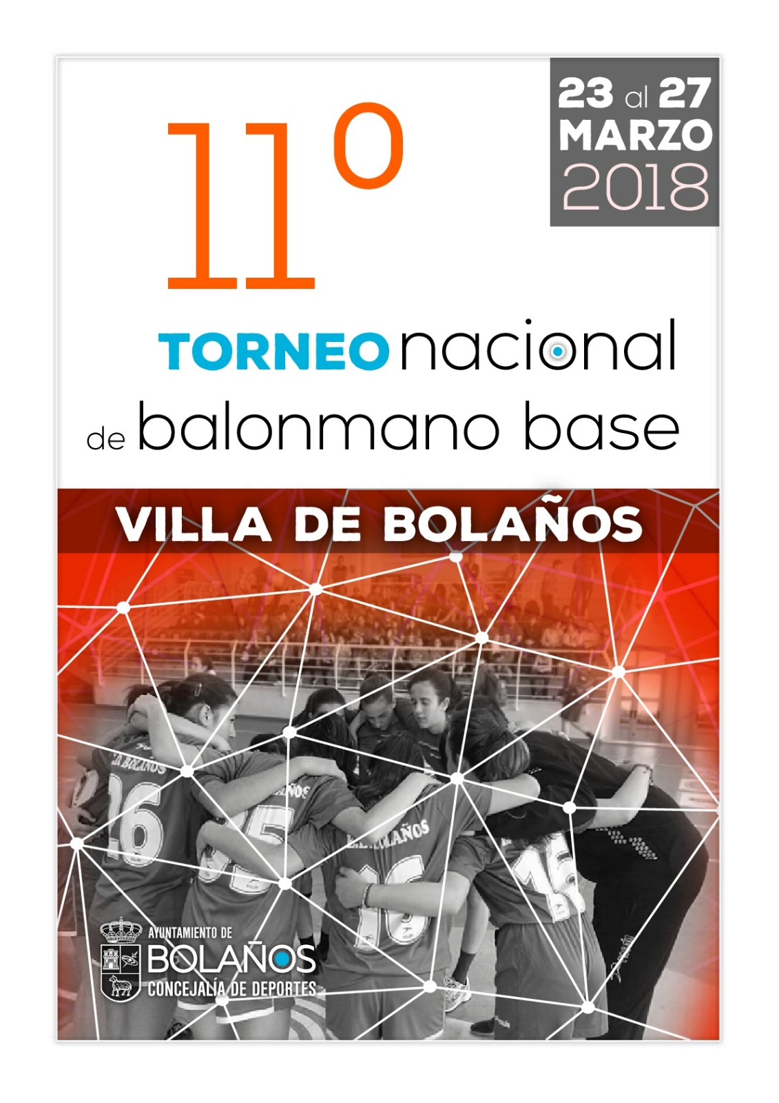 """EL XI TORNEO DE BALONMANO BASE """"VILLA DE BOLAÑOS"""""""