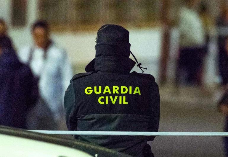 TRES DETENIDO POR LA GUARDIA CIVIL POR ROBO CON VIOLENCIA