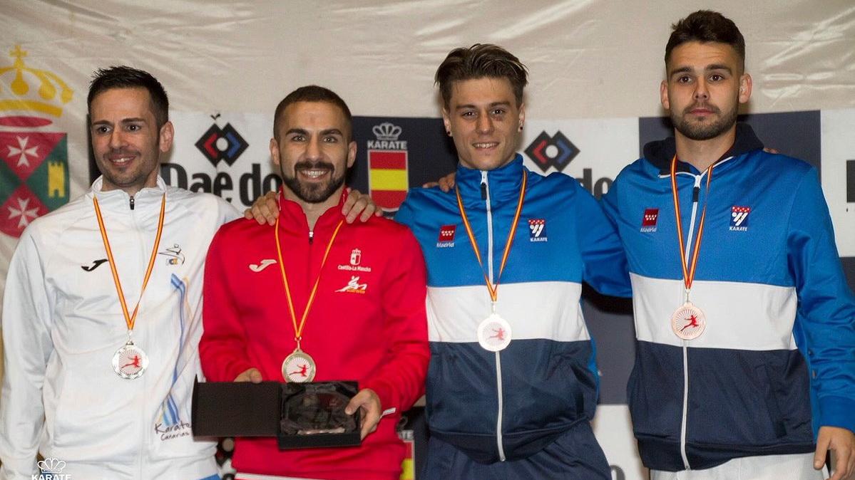 Matías Gómez, otra vez campeón de España