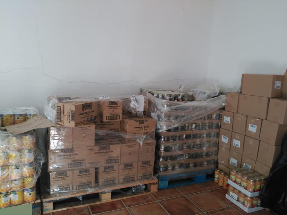 LOS SERVICIOS SOCIALES DEL AYUNTAMIENTO DE BOLAÑOS REPARTEN 5.978 KILOS DE ALIMENTOS