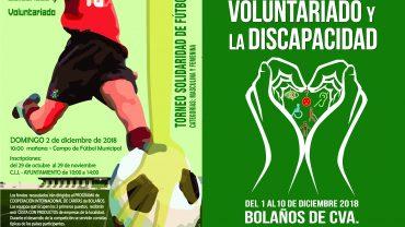 BOLAÑOS CELEBRA EL DÍA DE LA DISCAPACIDAD Y VOLUNTARIADO