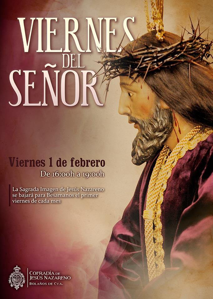 VIERNES DEL SEÑOR, VIERNES DE JESÚS NAZARENO