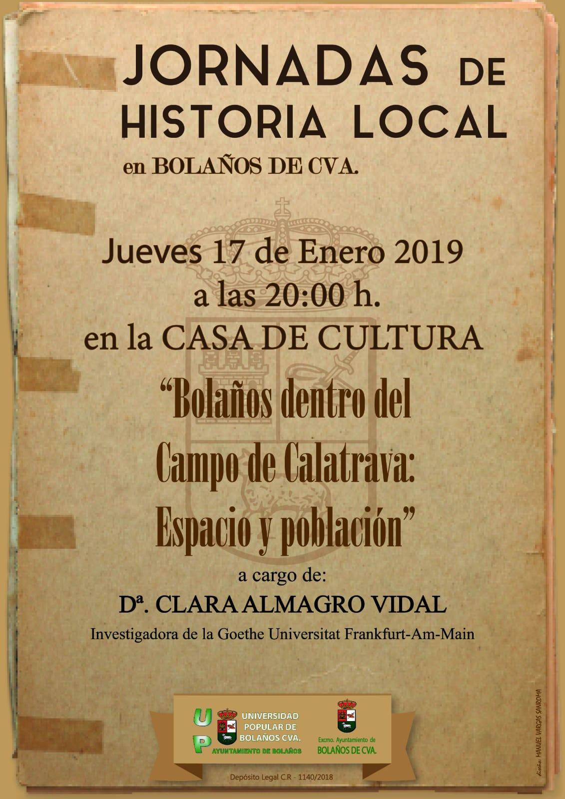 BOLAÑOS DENTRO DEL CAMPO DE CALATRAVA