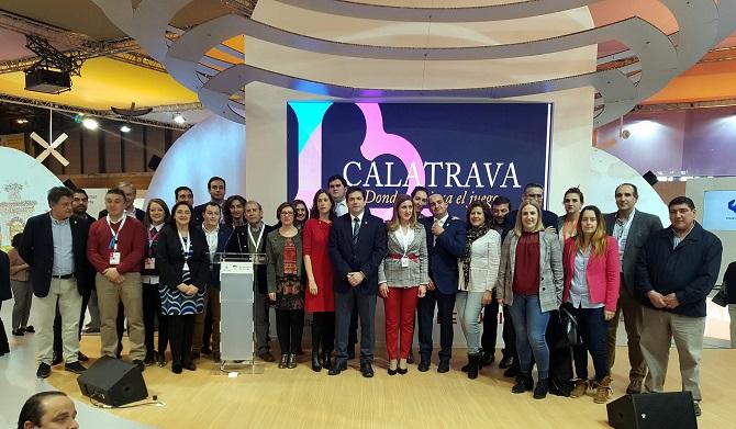 FITUR 2019 PROMUEVE LA FIRMA DE LA CARTA CALATRAVA PARQUE CULTURAL