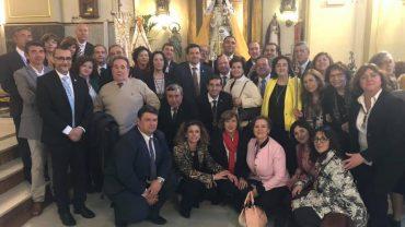 BOLAÑEGOS ACOMPAÑAN A LA VIRGEN DEL MONTE DE MADRID