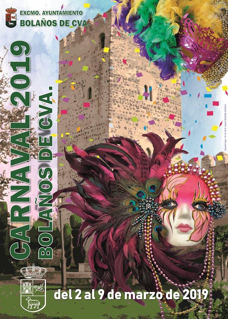 VIVE EL CARNAVAL  2019 EN BOLAÑOS DE CALATRAVA