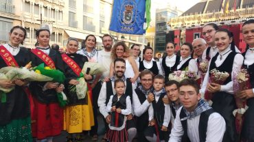 BOLAÑOS PARTICIPA EN LA OFRENDA FLORAL A LA VIRGEN DEL PRADO