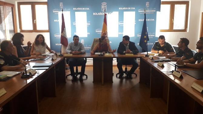 HERREROS Y VALVERDE PRESIDEN LA JUNTA LOCAL DE SEGURIDAD