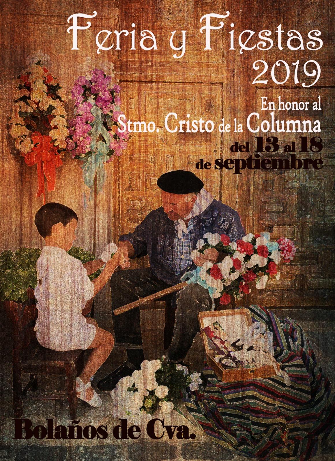 CARTEL DE LA FERIA DEL SANTÍSIMO CRISTO DE LA COLUMNA 2019