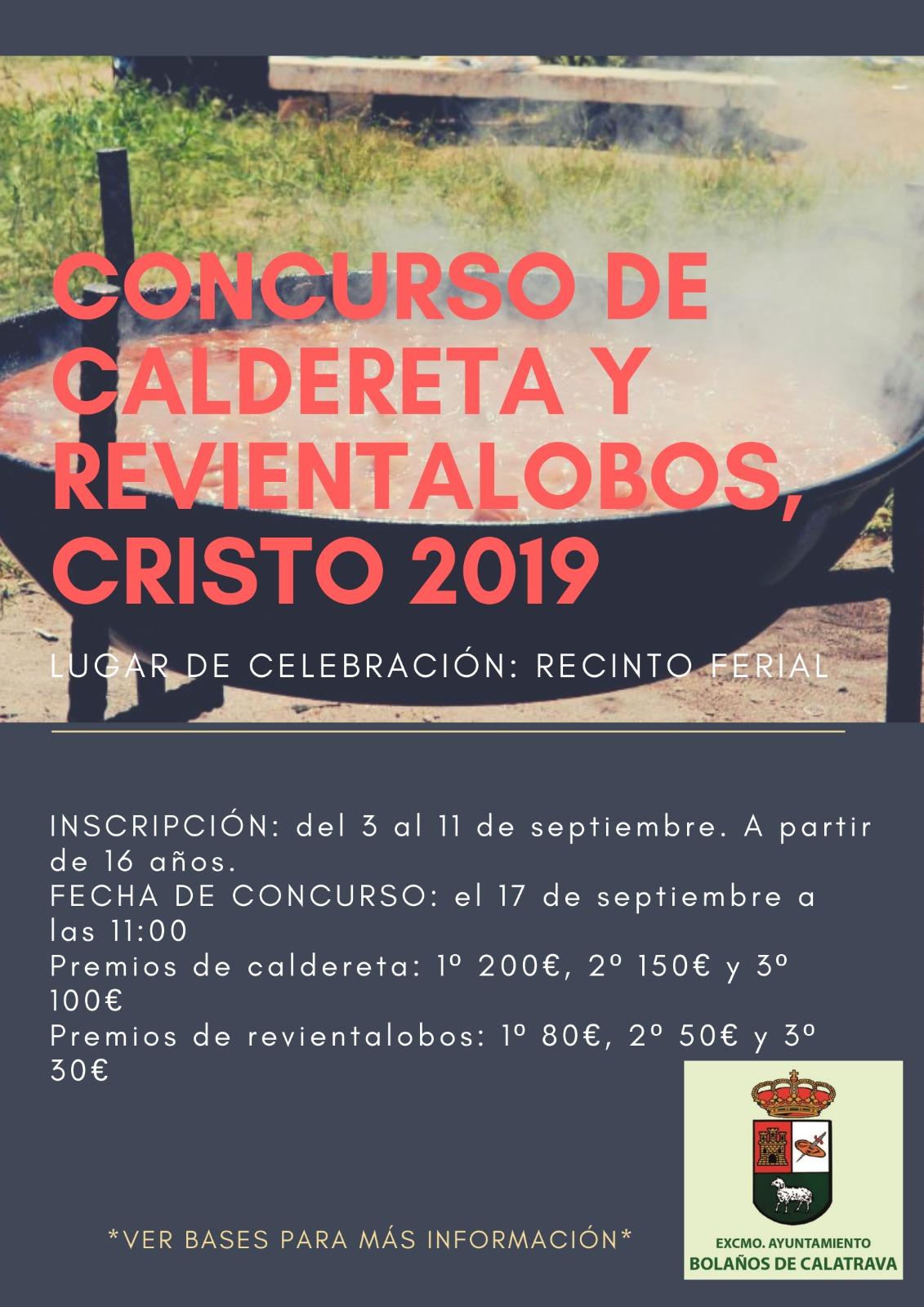 CONCURSO CALDERETA Y REVIENTALOBOS CRISTO 2019