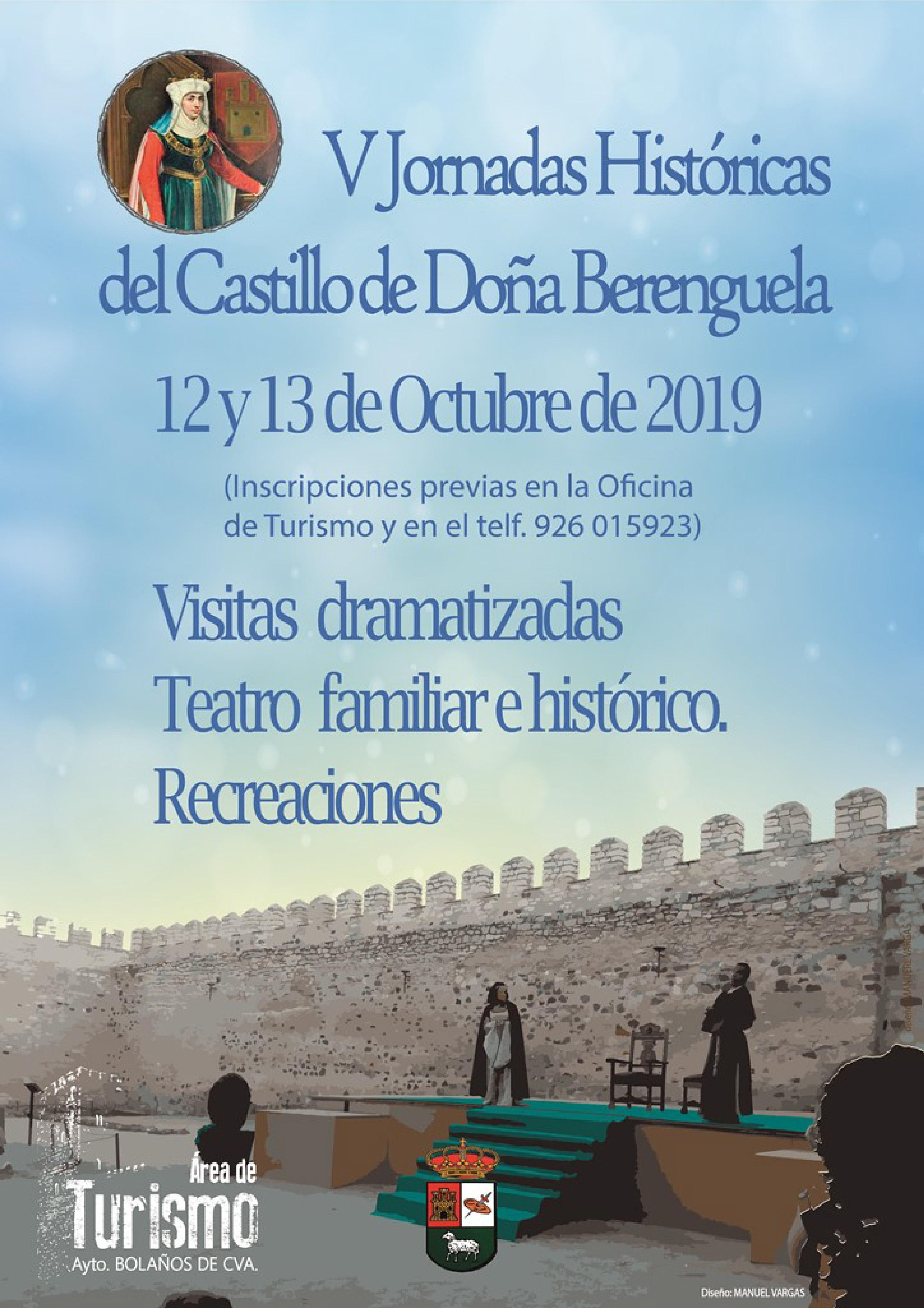 V JORNADAS DE HISTÓRICAS CASTILLO DE DOÑA BERENGUELA