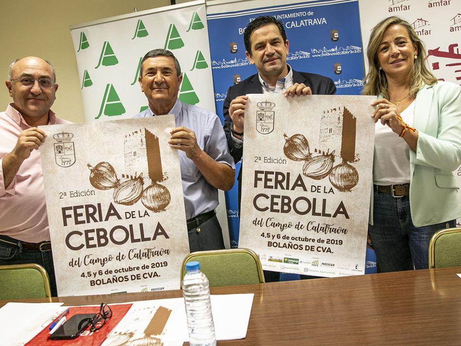 II FERIA DE LA CEBOLLA EN BOLAÑOS DE CALATRAVA