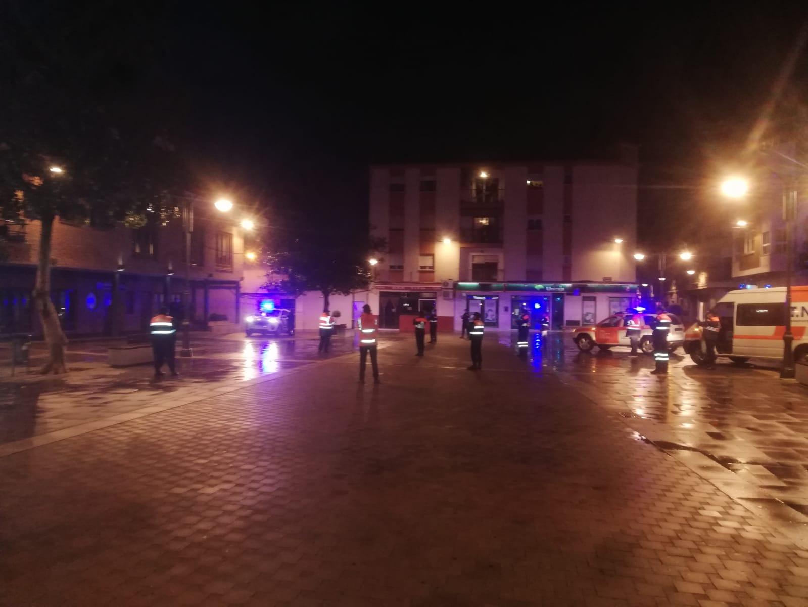 Homenaje a Sanitarios y Policia Local