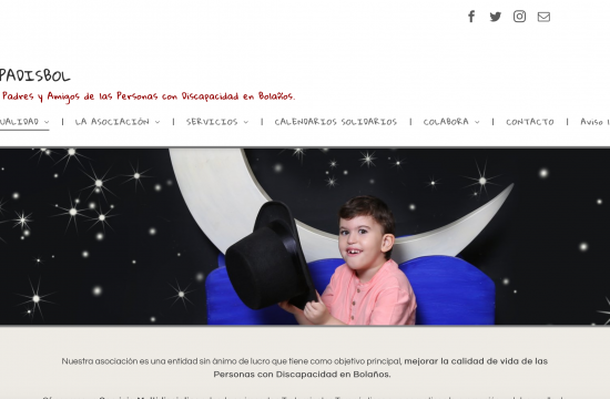 Nueva web padisbol